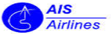 Logotipo AIS Airlines