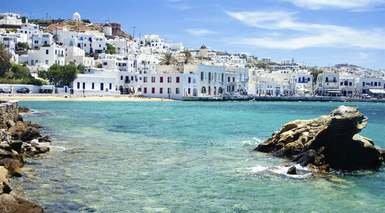 ESTAMBUL, ATENAS Y CRUCERO POR LAS ISLAS GRIEGAS      -                     Míkonos, Santorini, Miconos, Creta, Patmos, Rodas                     Kusadasi, Cícladas, Estambul, Atenas, Éfeso