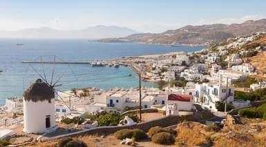 CRUCERO ISLAS GRIEGAS - ESPECIAL SINGLES      -                     Atenas, Miconos, Míkonos, Patmos                     Santorini, Mar Mediterráneo, Marmaris