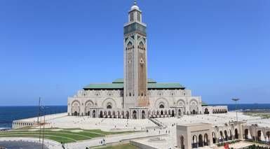 MARRUECOS: CIUDADES IMPERIALES DESDE MADRID      -                     Rabat, Beni Mellal, Meknes, Atlas, Marrakech, Casablanca, Fez, Alto Atlas, Ifrane, Mezquita Hassan II, Kasbah de los Oudaias, Plaza de Yamaa el Fna, Tumbas saadíes                     Al-Attarine Madrasa, Anfa, Mausoleo de Mohamed V, Mausoleo de Mulay Ismail, Mezquita Kutubía, Monte Tassemit, Palacio Real, Palacio de la Bahía, Plaza Mohamed V, Río Bu Regreg, Torre Hasán, Valle de la Chaouia