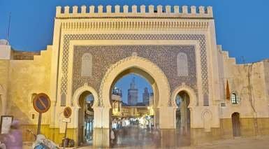 CAPITALES Y DESIERTO EN 4X4 - SEMANA SANTA      -                     Fez, Midelt, Azrou, Erg Chebbi, Garganta del Dadès, Gargantas de Todra, Ifrane, Mezquita Hassan II, Ouarzazate                     Plaza de Yamaa el Fna, Rabat, Tinghir, Tumbas saadíes, Valle del Dadès, Merzouga, Marrakech, Ait Benhaddou