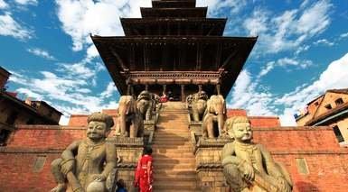 GRAN CIRCUITO DE INDIA Y NEPAL      -                     Fatehpur Sikri, Fuerte Amber, Fuerte Rojo, Patán, Swayambhunath                     Nueva Delhi, Agra, Katmandú, Jaipur
