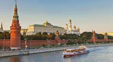 CRUCERO FLUVIAL POR EL VOLGA      -                     Kijí, Kremlin, Moscú, Museo del Hermitage, Plaza Roja                     San Petersburgo, Úglich, Goritsy, Mandrogi