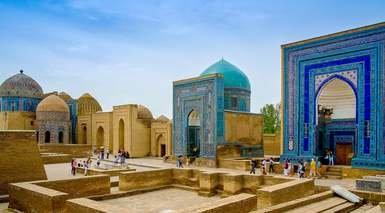 RUTA DE LA SEDA      -                     Bukhara, Urgench, Khiva                     Samarcanda, Taskent